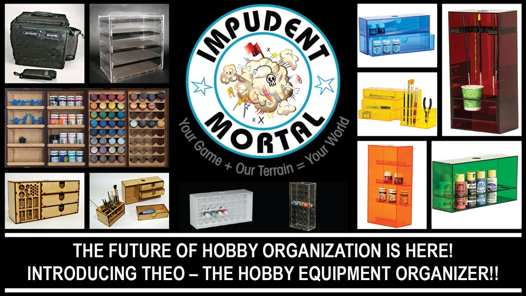 The Hobby Equipment Organizer - THEO project video thumbnail