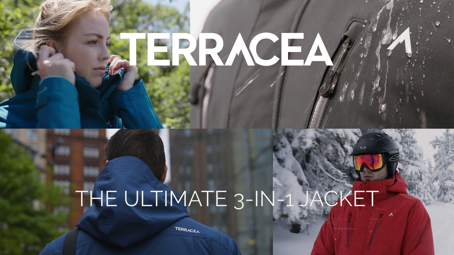 Customizable premium performance 3-in-1 jackets offering unmatched versatility without sacrificing on the fit or function.