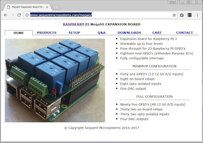 Mega-IO Website