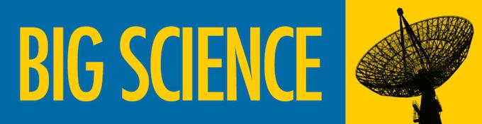 Big Science bumper sticker