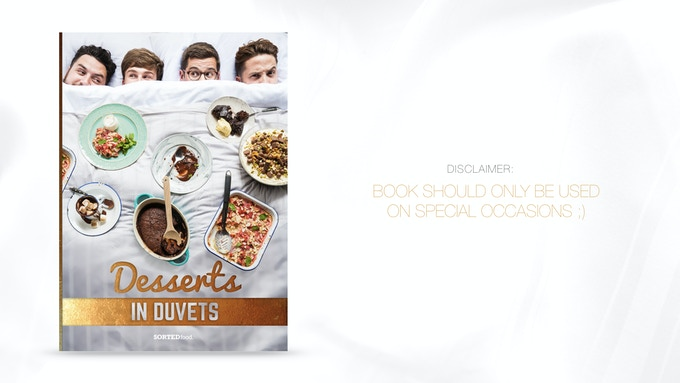 Desserts in duvets cookbook by sortedfood kickstarter a collection of the mouth wateringly delicious desserts in one beautifully crafted limited edition recipe book forumfinder Image collections