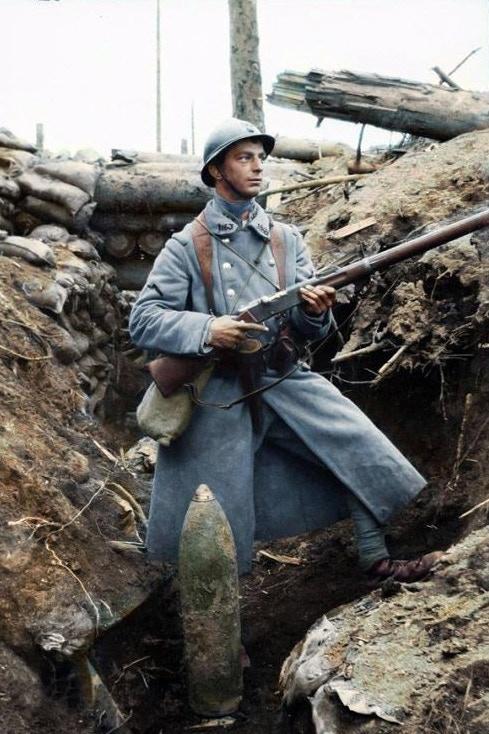 "The Mle 1886 ""Lebel"" rifle definitely changed the warfare"