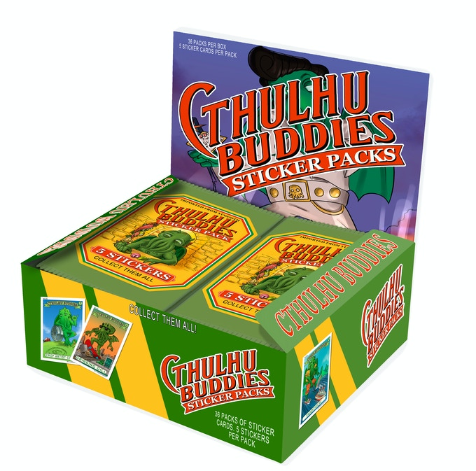 BOX OF 36 PACKS (5 STICKERS PER PACK)