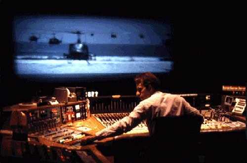 Walter Murch working his magic for Apocalypse Now