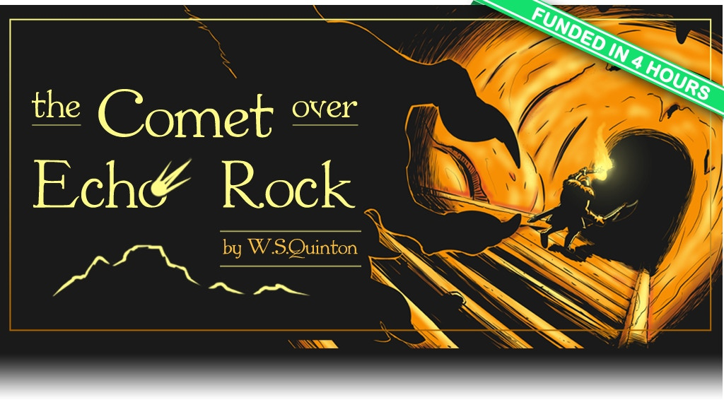 Comet over Echo Rock, a 5th edition adventure level 2-4 project video thumbnail