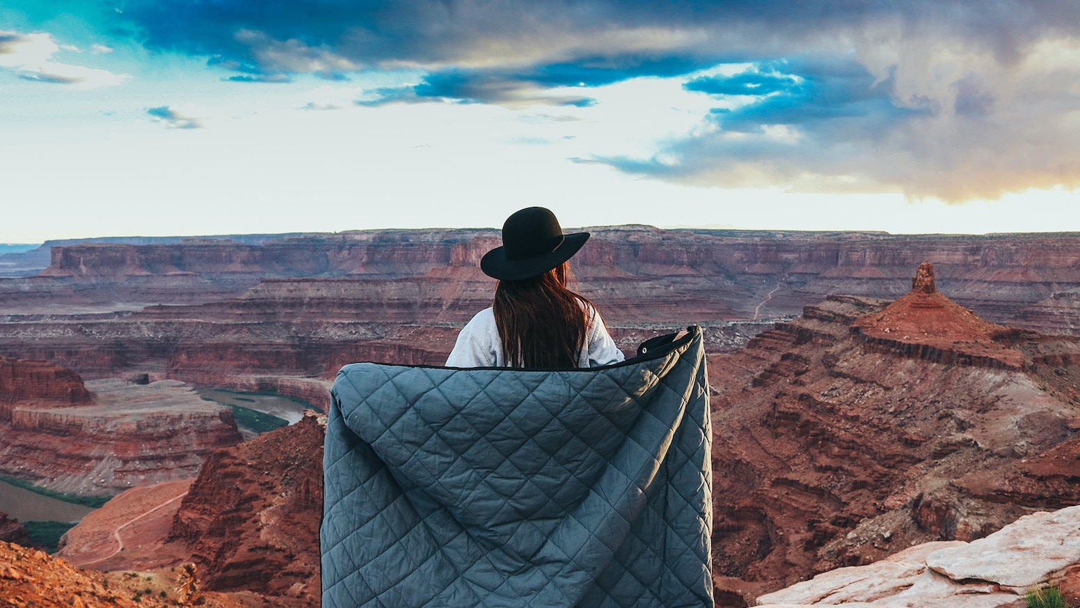 A durable blanket for everyday use. Made to last a lifetime. Not Your Grandma's quilt. Comfortable on top, heavy duty on the bottom.