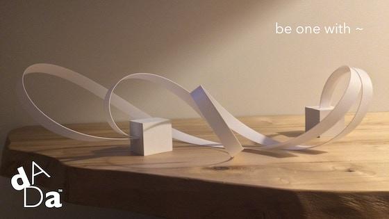 The dADa | ZEN fidget ART bot NON toy | now YOU're an artist