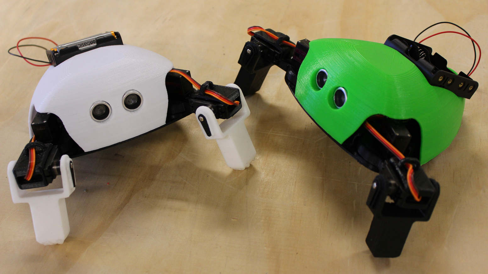 The Critter is for beginner robot builders to learn coding and 3D Printing on a robot that is different from anything they've seen.