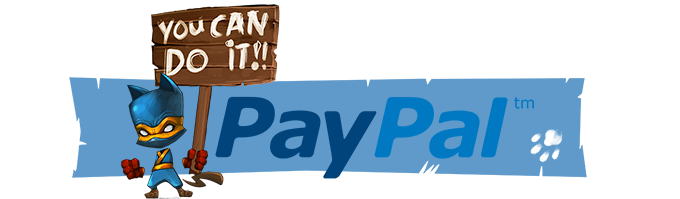 No compatible credit card, but you still want to support us? You can do it with PayPal! Just click here!