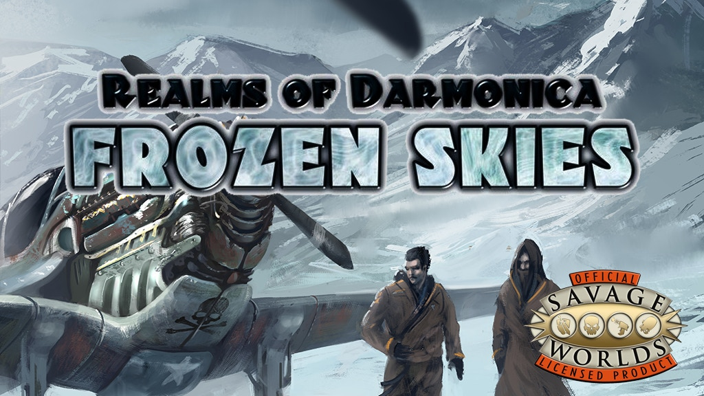 Frozen Skies RPG for Savage Worlds project video thumbnail