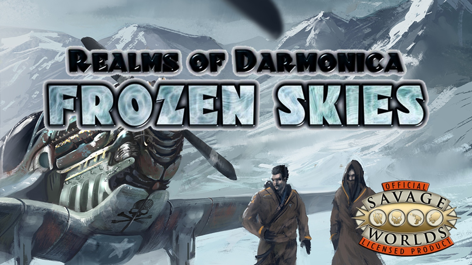 Frozen skies rpg for savage worlds by ian liddle kickstarter for Bureau 13 savage worlds