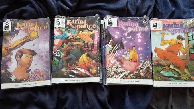 KARMA POLICE 1-4 (Vault Comics)