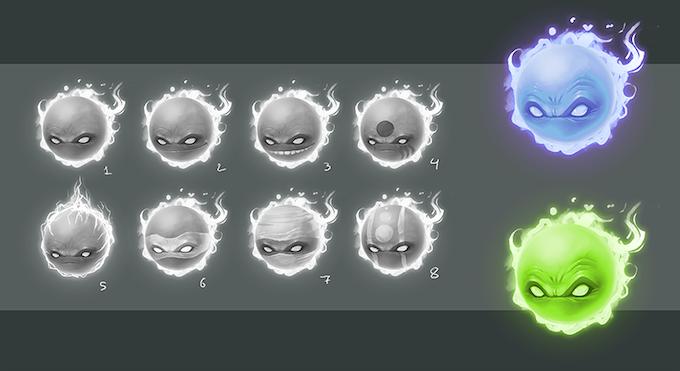 Ninja Souls Concept Art
