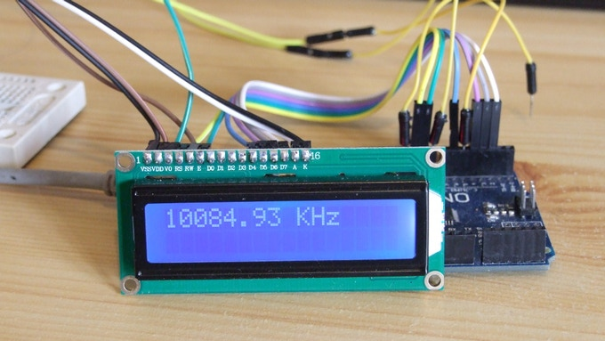 Testing the concept with an Arduino Uno board.