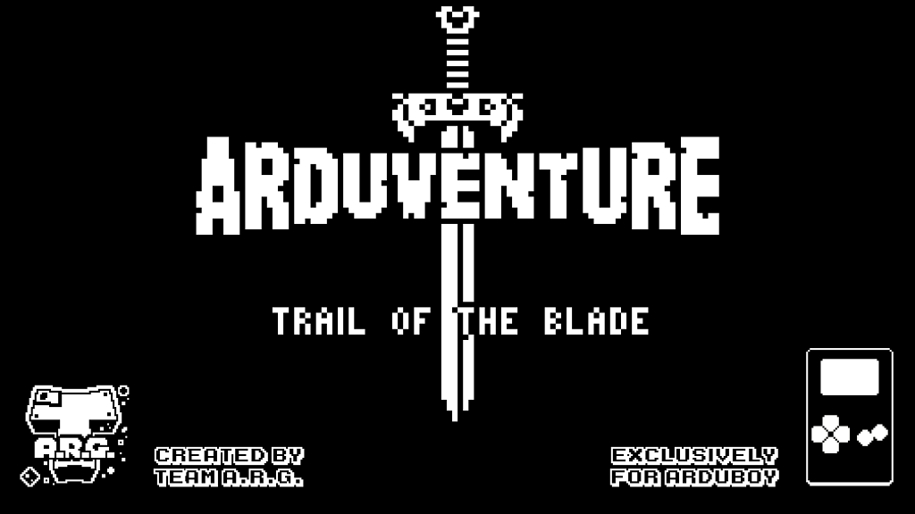 Arduventure on Arduboy: 8-bit RPG for your wallet project video thumbnail