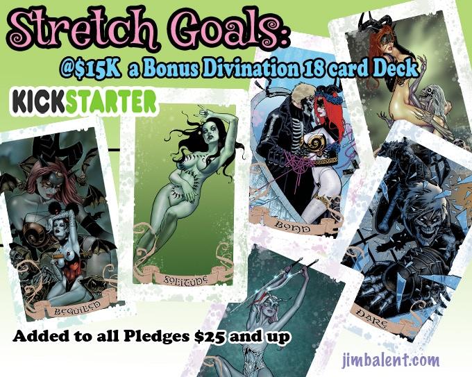 Bonus Divination Deck at $15K!