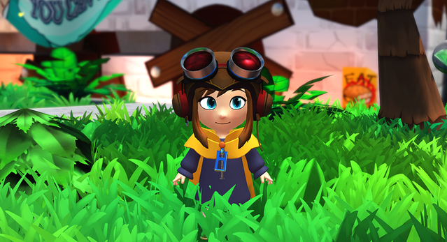 is a hat in time out on ps4