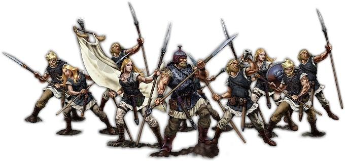 Warriors of Cantwaraburg, Jutgār Unit