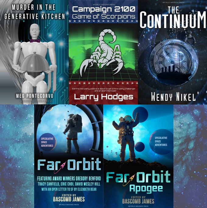 Books in the Sci-Fi Six Pack