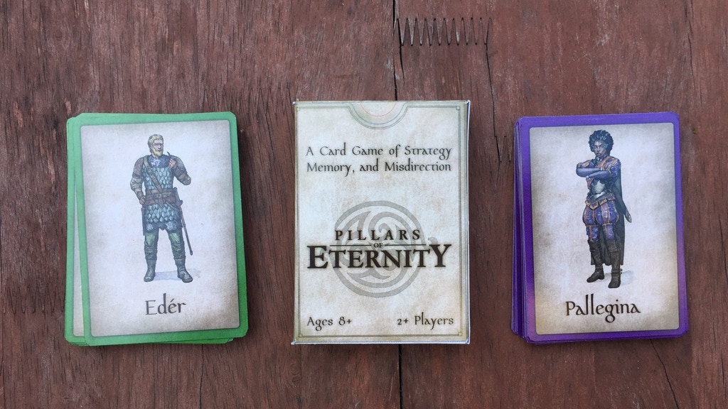 Scrimish: Pillars of Eternity Decks -- 10 Min Strategy Game project video thumbnail