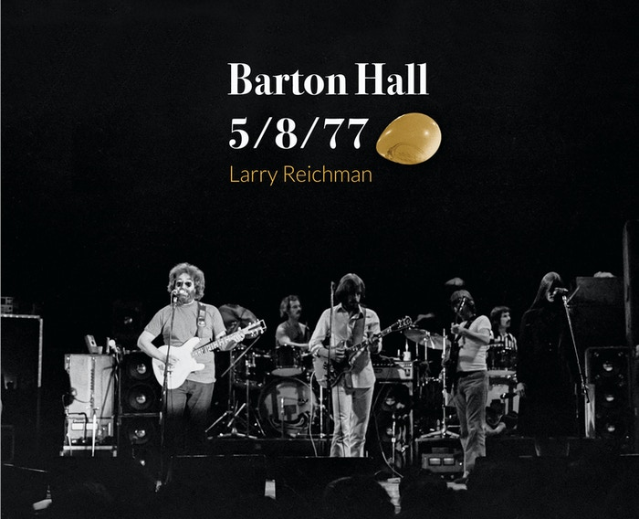 Coffee table book showing black & white photographs of the legendary Grateful Dead concert held at Cornell on May 8, 1977