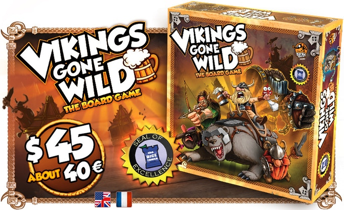 Vikings Gone Wild - Masters of Elements Expansion (+Reprint