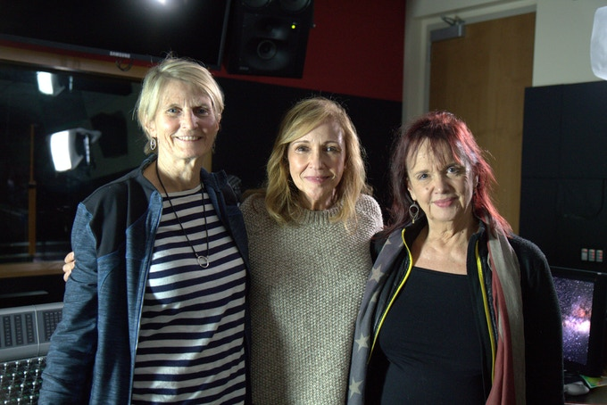 L to R: Midge Costin (Director/Producer) Ann Druyan, Bobette Buster (Writer/ Producer)