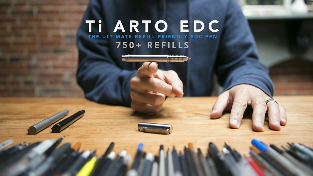 Ti Arto EDC :The Ultimate Refill Friendly Everyday Carry Pen project video thumbnail
