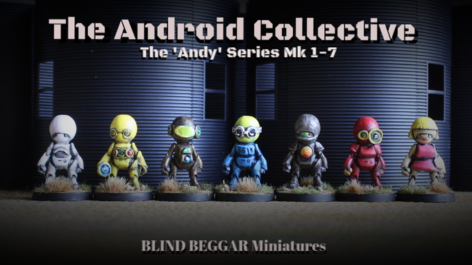 MK's 1-7 of the 'Andy' Series