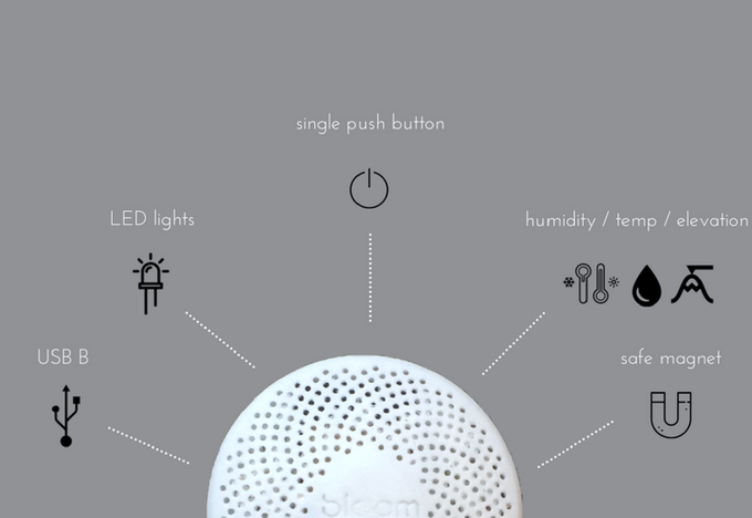 Bloom is equipped to operate independently from your smartphone and smart home platforms