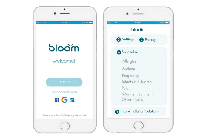 Bloom gives you control of your device to maximize its benefits