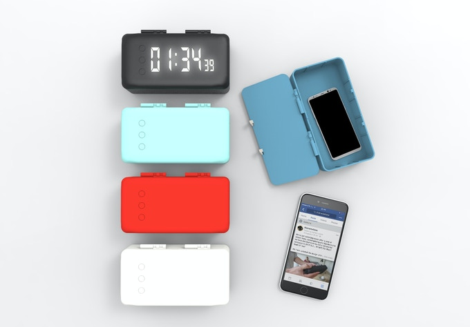 3D rendering of the PhoneCell with different colors