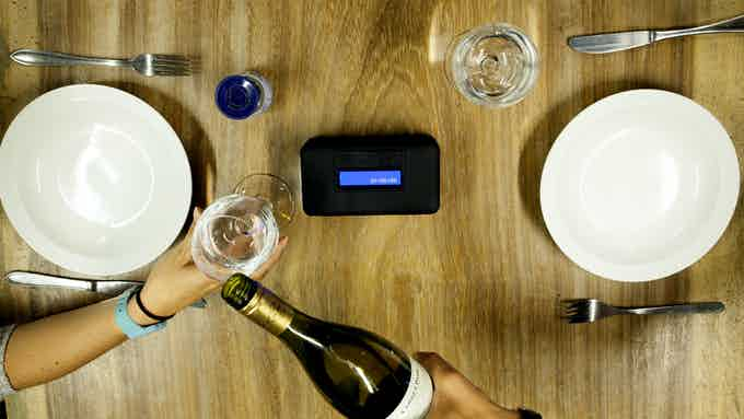 Enjoy a dinner without Distractions
