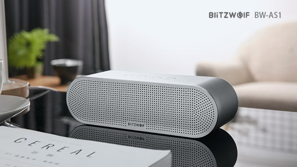 BlitzWolf BW-AS1:More Than Just A Speaker,It's An Artwork project video thumbnail