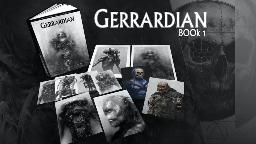 GERRARDIAN 1 : MONOCHROMATIC BEGINNINGS by PAUL GERRARD project video thumbnail
