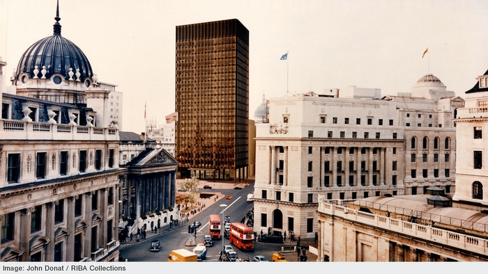 This will be the first ever publication on Mansion House Square, modernist architect Mies van der Rohe's only design for the UK.