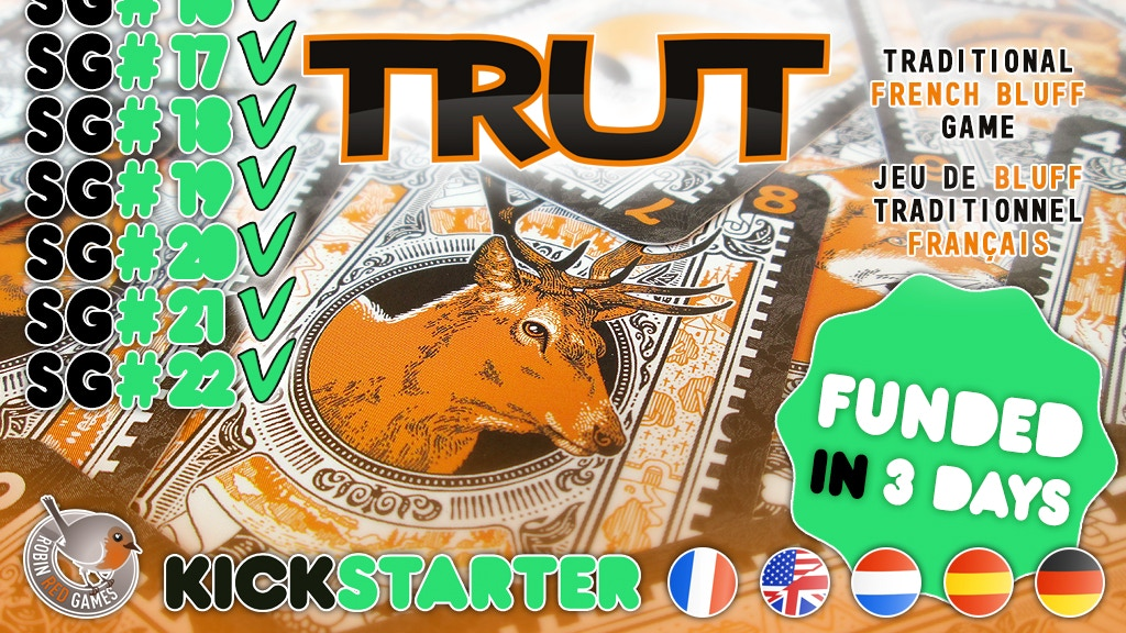TRUT - Jeu de bluff du XVIIe siècle - French bluff game project video thumbnail