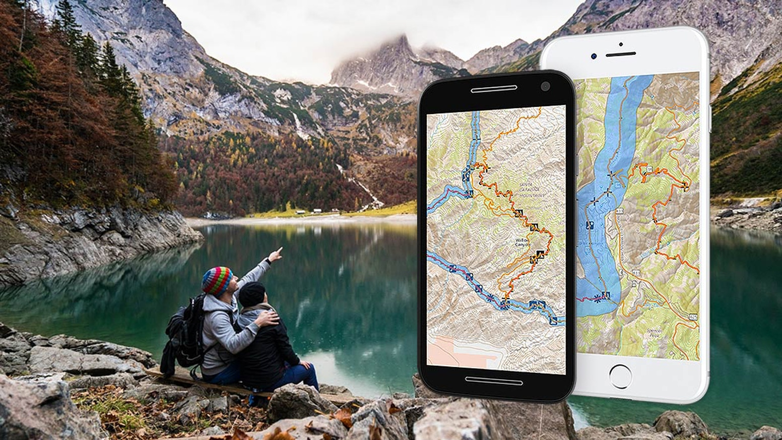 No cell coverage? No worries… The easy way to navigate your outdoor adventures using your smartphone. Hiking, backpacking, and more.