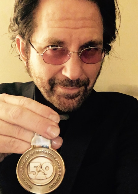 Grammy Nomination Medal for Conversations With Nijinsky 2017