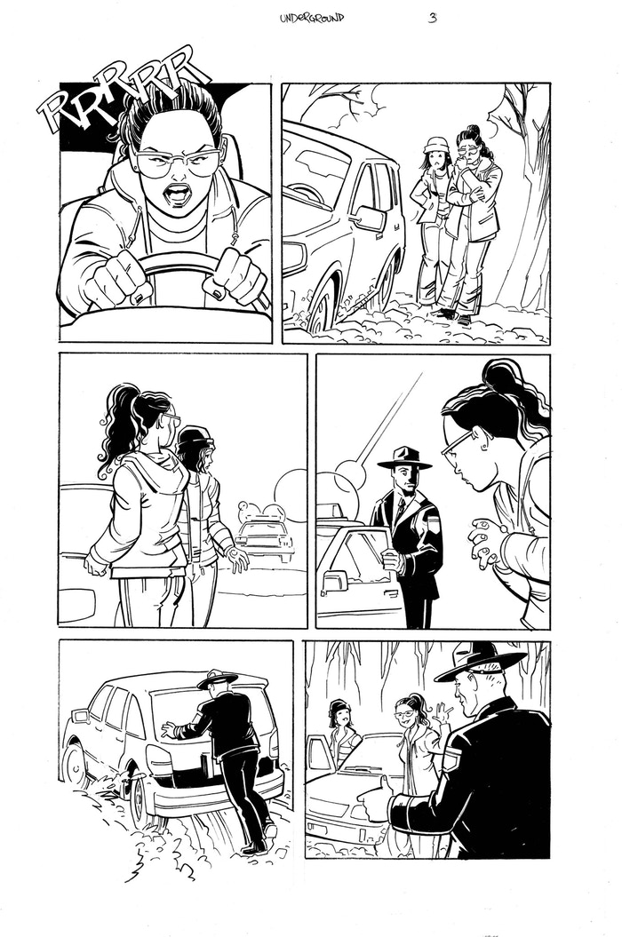 Underground pg 3 illustrated by Richard Case