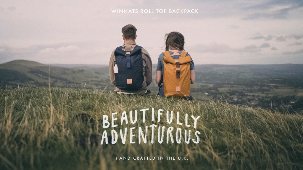 WINNATS ROLL TOP BACKPACK – THE LEVEL COLLECTIVE project video thumbnail
