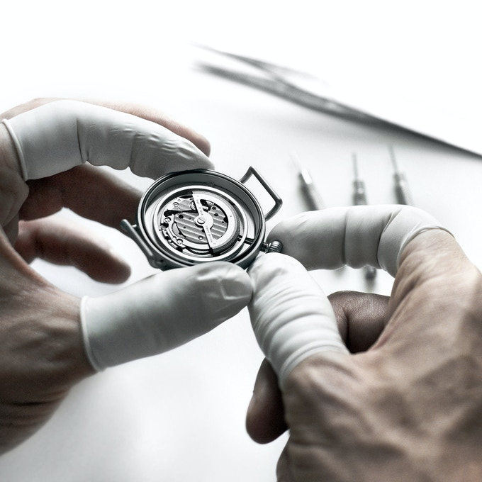 Each component is carefully controlled to reach perfection