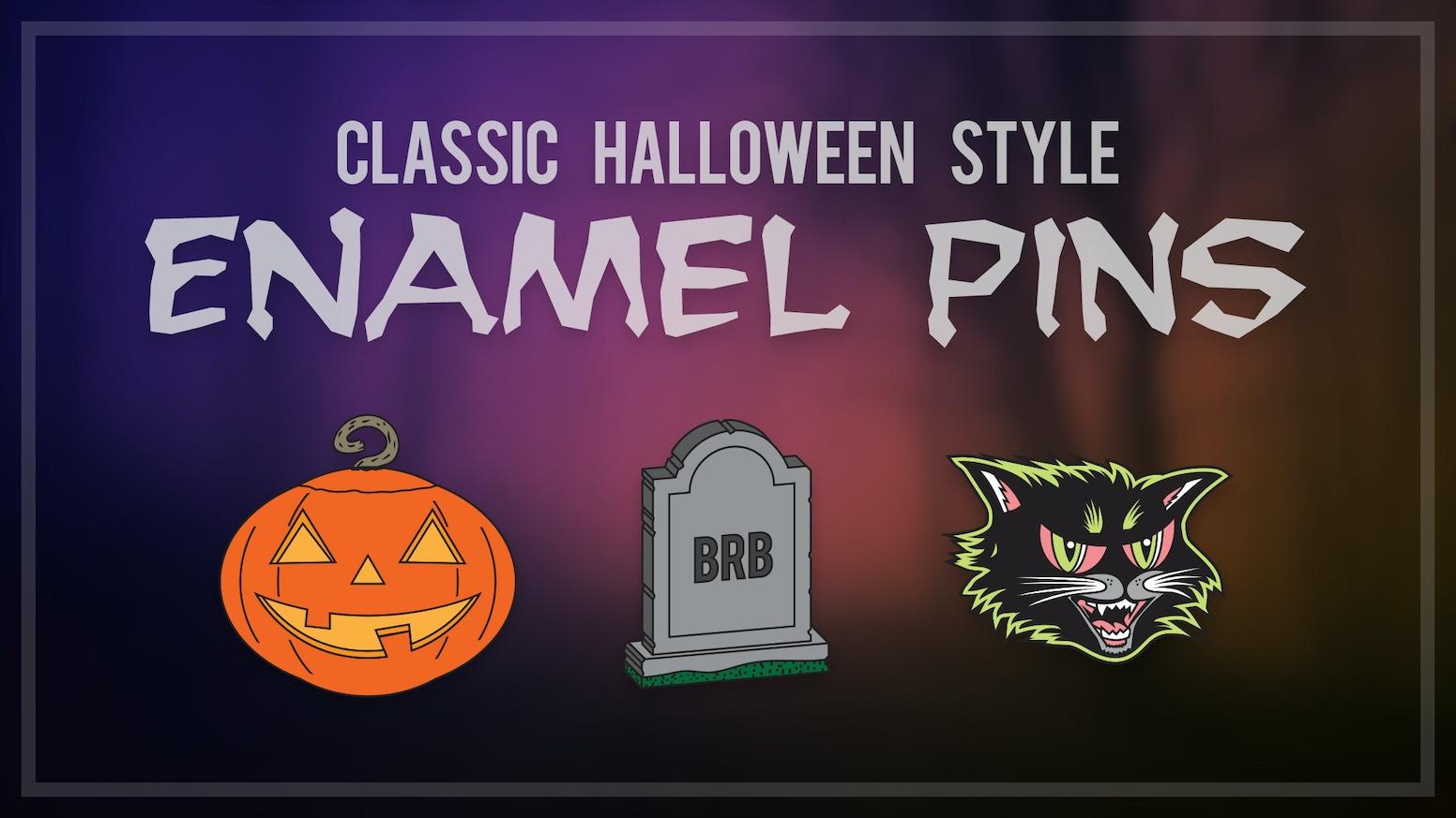 Classic Halloween Style Enamel Pins by Jake Caputo » Elf