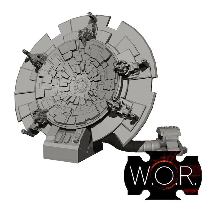 Radar Dish 01