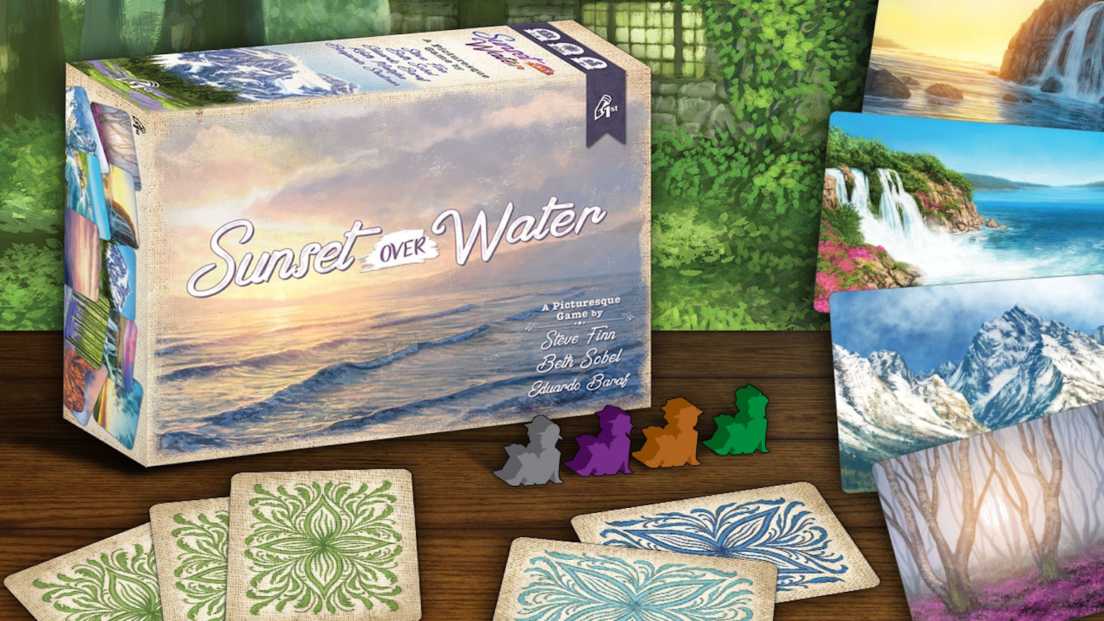 A picturesque game for 1 to 4 players by the Herbaceous team. Simple to teach, easy to learn, and always beautiful.