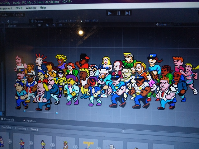 All enemies currently in the build, with many more to come...