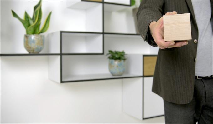 Designed by Jan Van Look, founder and inspirer of KABINET VAN LOOK - Design studio