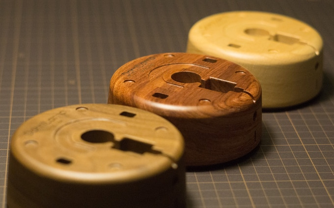 Solid Wood Bases | There's no more natural material than wood.