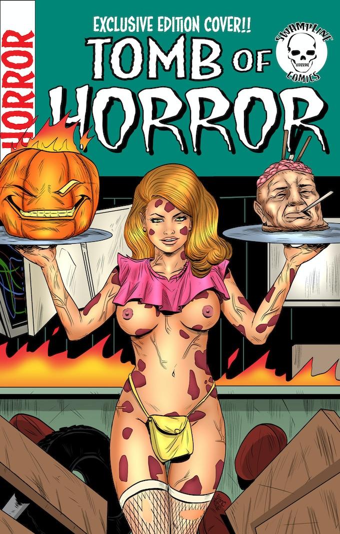 Tomb of Horror Alternative Cover Juan Fleites