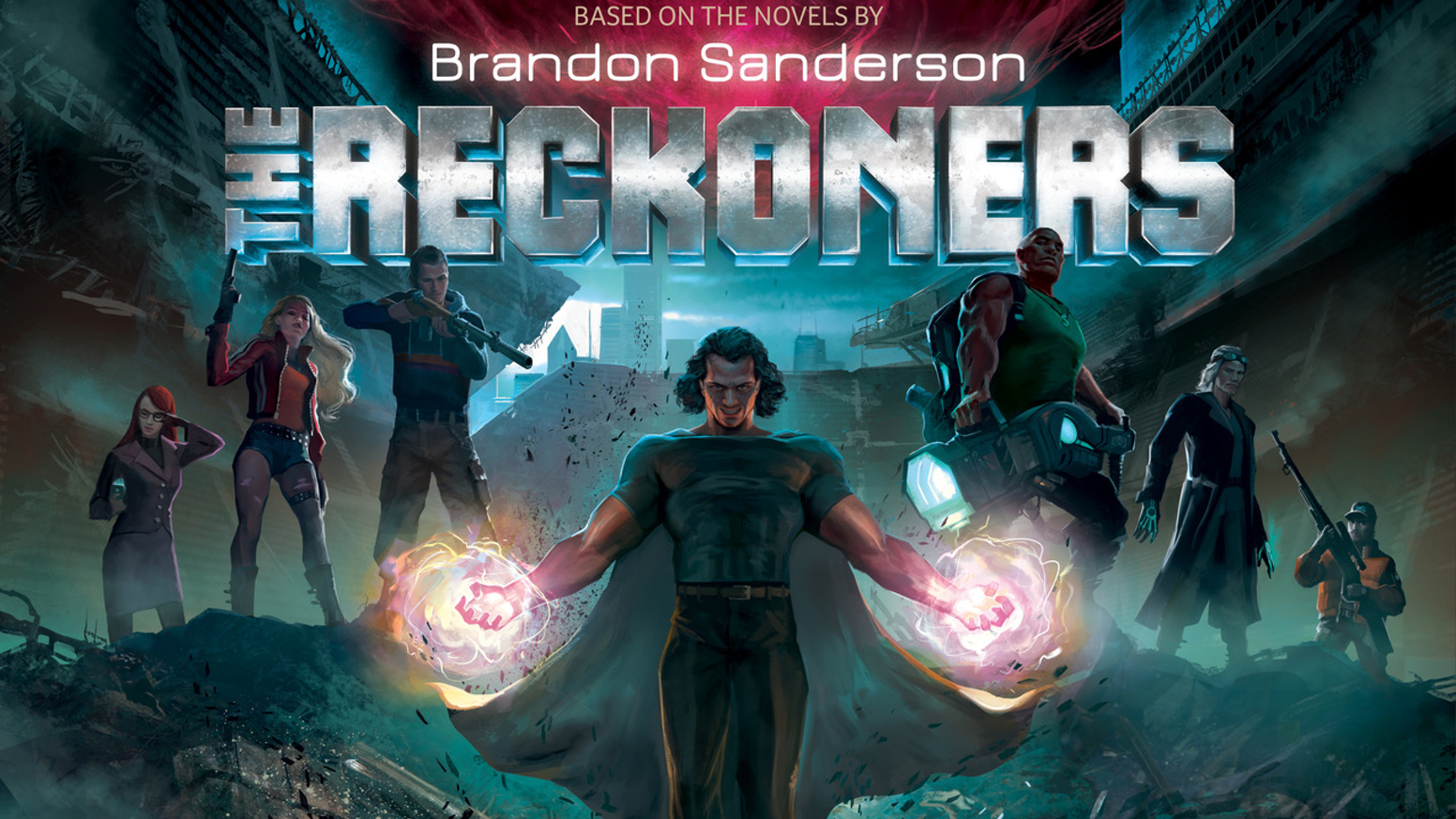 A cooperative board game based on the books by Brandon Sanderson where you must defend the city of Newcago and defeat Steelheart!
